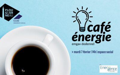 CAFÉ ÉNERGIE : UNE PREMIÈRE A PLOUGUERNEAU